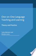 One-on-One Language Teaching and Learning  : Theory and Practice