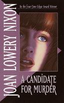 A Candidate for Murder Pdf/ePub eBook