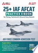 25 Iaf Afcat Practice Ebook English Edition