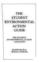The Student Environmental Action Guide