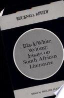 Black White Writing