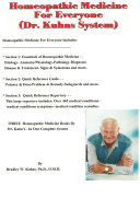 Homeopathic Medicine for Everyone  Dr  Kuhns System
