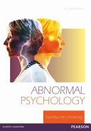Abnormal Psychology  Custom Edition
