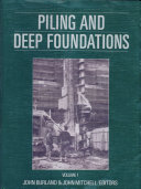 Piling and Deep Foundations