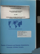 International Trade and Open Access Renewable Resources