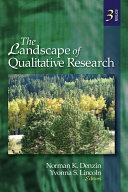 The Landscape of Qualitative Research