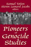 Pioneers of Genocide Studies Pdf
