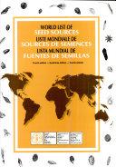 Lista Mundial de Fuentes de Semillas