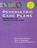 Psychiatric Care Plans Book
