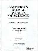 American men   women of science