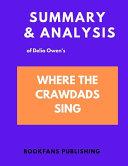 Summary   Analysis of Delia Owen s Where the Crawdad Sings