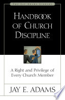 Handbook of Church Discipline Book
