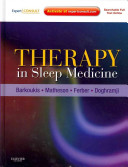 Therapy in Sleep Medicine Book