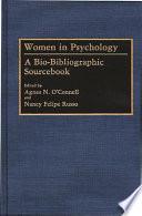 Women in Psychology Book