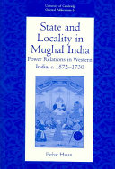 State and Locality in Mughal India