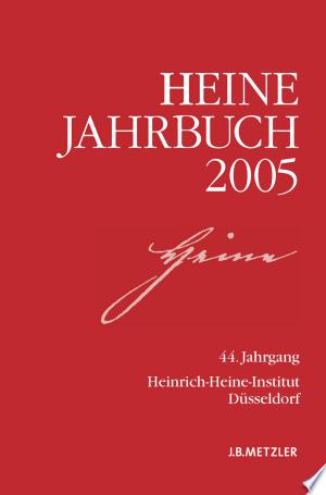 Download Heine-Jahrbuch 2005 Free Books - Read Books