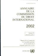 Annuaire De La Commission Du Droit International, 2002