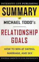 Summary of Relationship Goals