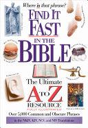 Find It Fast in the Bible Pdf/ePub eBook
