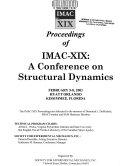 Proceedings of IMAC-XIX