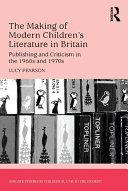 Pdf The Making of Modern Children's Literature in Britain