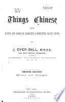 Things Chinese Book