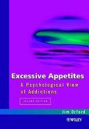 Excessive Appetites Book