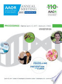 Aacr 2017 Proceedings Abstracts 1 3062