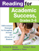 Reading for Academic Success  Grades 2 6