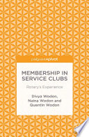 Membership In Service Clubs