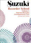 Suzuki Recorder, Soprano, Piano Accompaniment