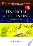 Financial Accounting  For NEHU  Book