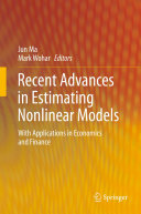 Recent Advances in Estimating Nonlinear Models