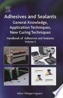 Handbook Of Adhesives And Sealants Book PDF
