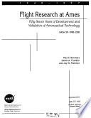 Flight Research at Ames