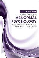 Abnormal Psychology textbook   case studies SP ZOZ   ukowo