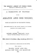 A Narrative of Travels on the Amazon and Rio Negro