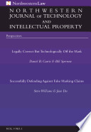 Northwestern Journal Of Technology Intellectual Property Vol 9 No 1