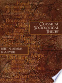 Classical Sociological Theory Book