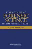 Pdf Strengthening Forensic Science in the United States Telecharger