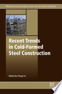 Recent Trends in Cold-Formed Steel Construction