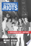 The Stonewall Riots Book