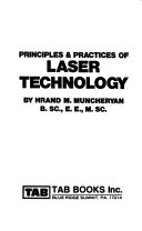 Principles Practices Of Laser Technology Book PDF