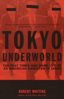 Tokyo Underworld Pdf/ePub eBook