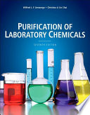 Purification of Laboratory Chemicals Book