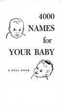 Four Thousand Names for Your Baby Book PDF