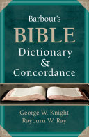 Barbour s Bible Dictionary and Concordance