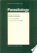 Parasites and Behaviour Book