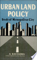 Urban Land Policy