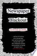 Newspaper Blackout